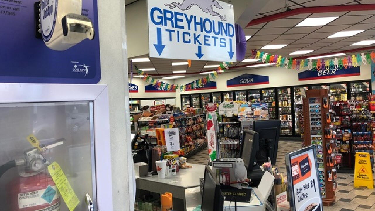 Bags still lost a month after Greyhound trip