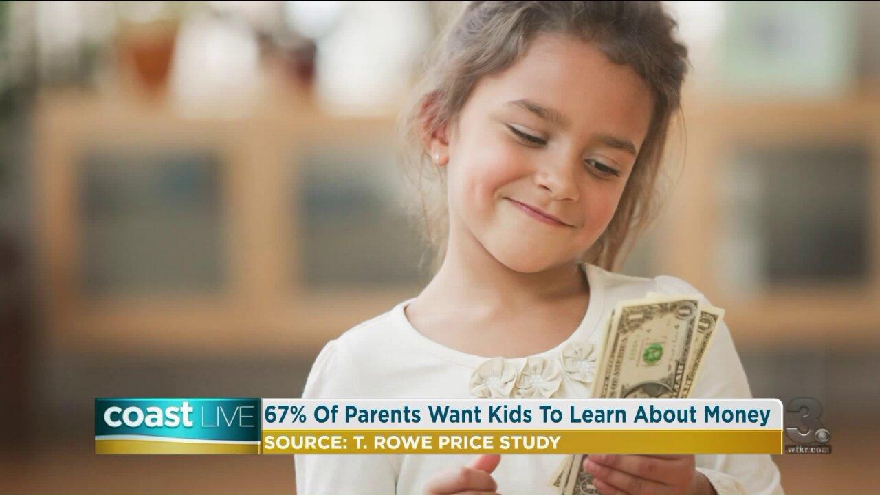 Creating positive financial habits for children on CoastLive