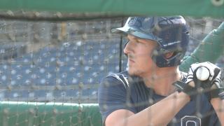 Kansas City Royals select ODU's Vinnie Pasquantino in 11th round of MLBDraft
