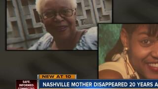 Family waits for answers 20 years after Nashville mother disappeared