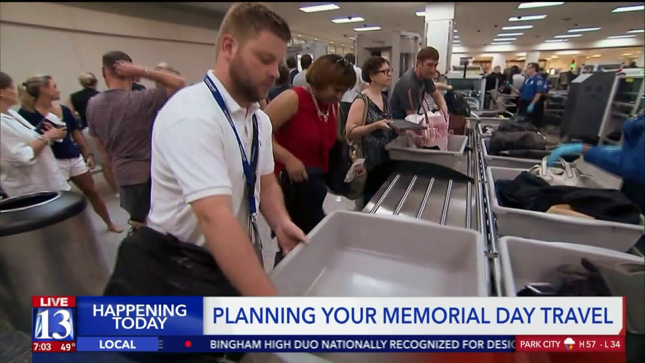 Experts expect congestion on roads, at airports for Memorial Day weekend