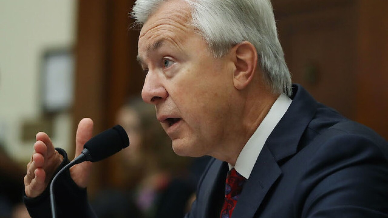 Wells Fargo CEO steps down in wake of fake account scandal