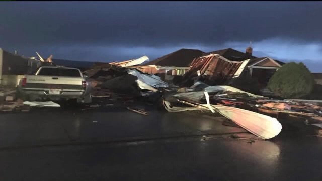 Panguitch tornado confirmed as EF-1 by National WeatherService