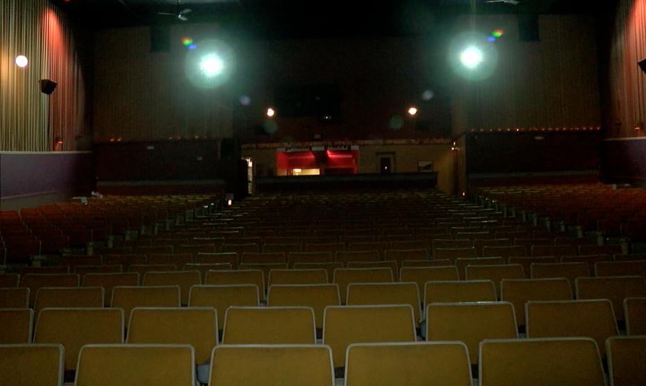 An Empty Aurora Theater