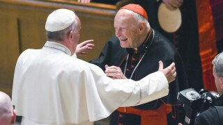 Vatican blames many for rise of ex-cardinal accused of sexual abuse
