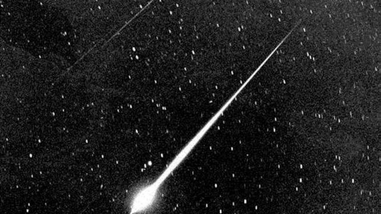 Major meteor shower expected tonight