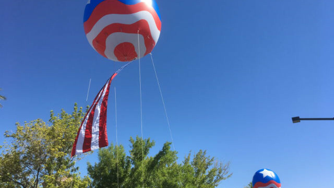 Preparations underway for 4th of July in Vegas