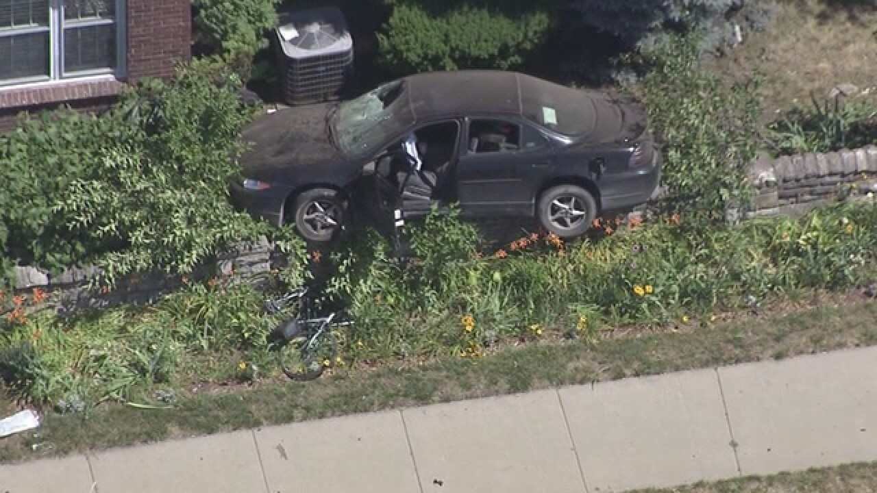 Serious accident involving bicyclists in Detroit
