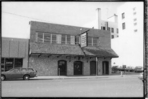 The Eklund Building housed a variety of businesses, including a night club called The Gold Rush