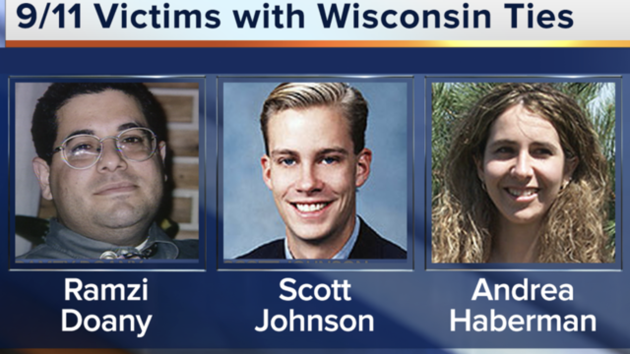 Three 9/11 victims had Wisconsin ties