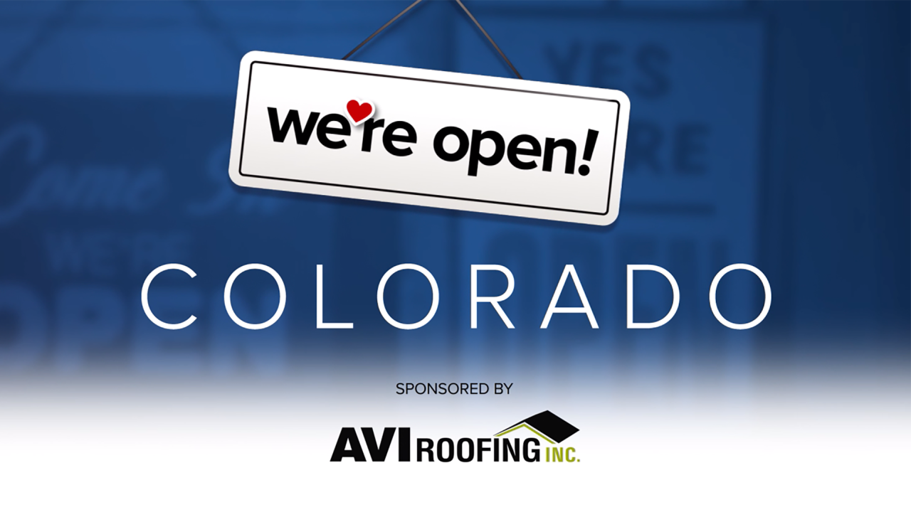 We Re Open Colorado These Businesses Are Ready To Serve You