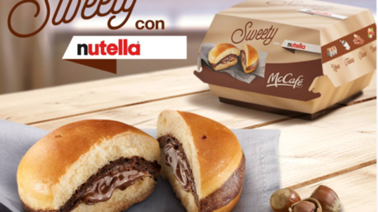 Would you eat a McDonald's Nutella burger?