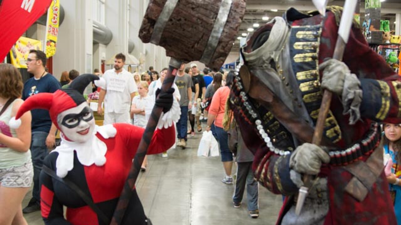 Organizers: More than 100,000 attended final day of Salt Lake ComicCon