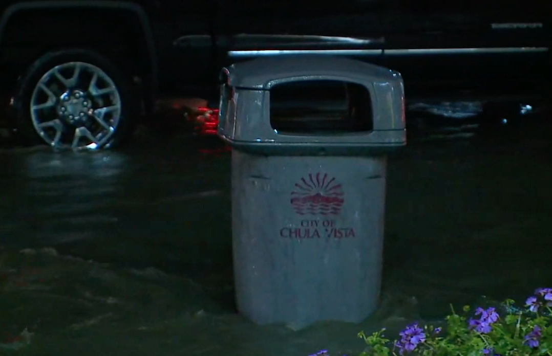 Chula Vista flood