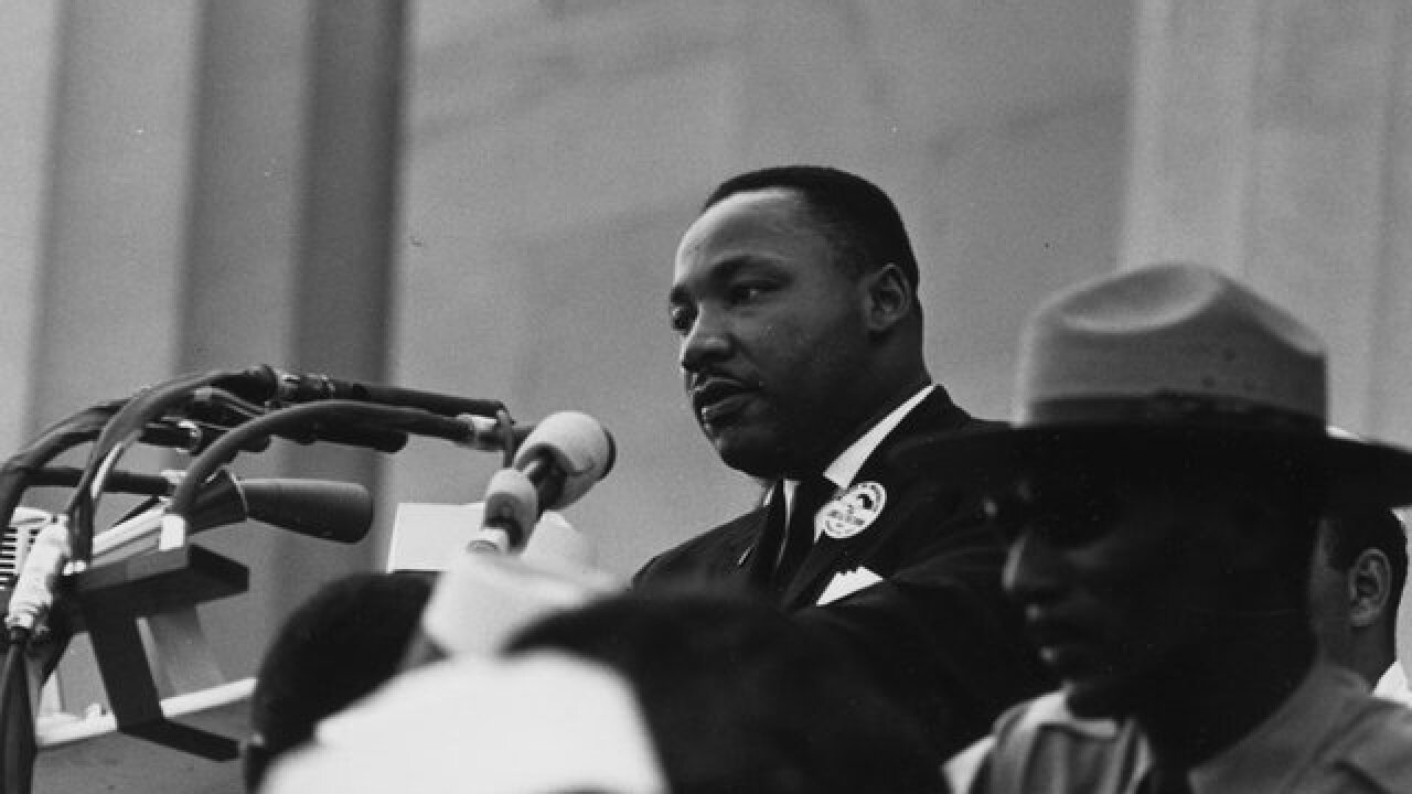 why did martin luther king wrote his speech