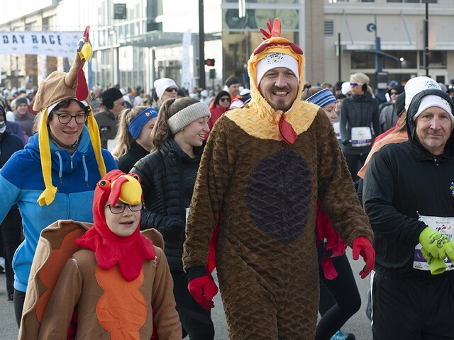 2018 Thanksgiving Day Race