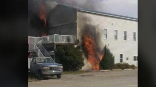 Fire engulfs historic Bunkhouse Inn in Augusta