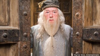 Sir Michael Gambon is an Irish-born English actor who has worked in theatre, television and film. Still from 'Harry Potter and the Order of the Phoenix' Birthday.jpg