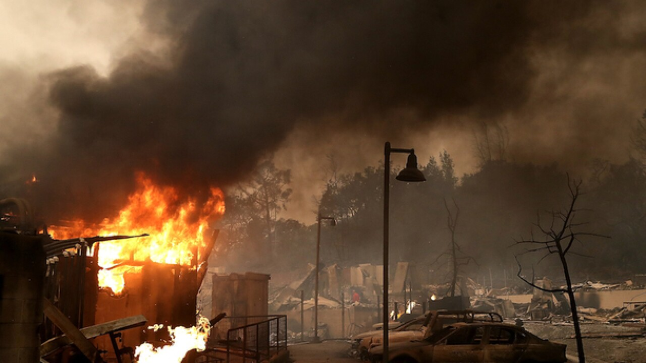 California wildfires: 40 dead, nearly 6,000 buildings destroyed so far