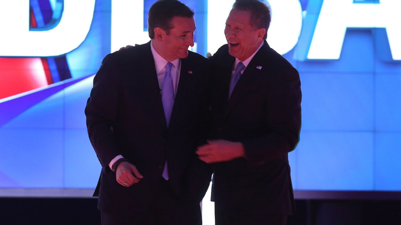 The best strategy for Cruz & Kasich: Cooperate