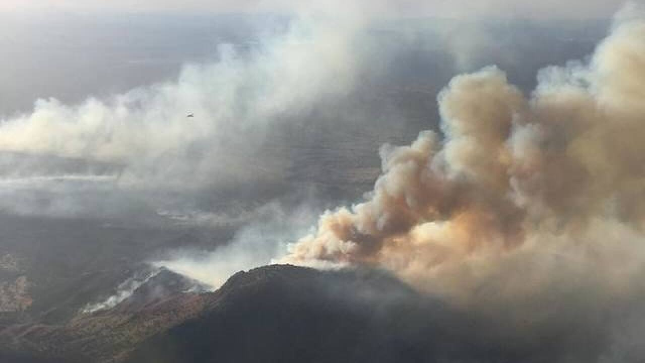 An off-duty Border Patrol agent started a 47,000-acre fire with a gender reveal party