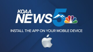 Download the KOAA News5 app and First Alert 5 Weather app for Apple devices to stay up to date with your news, weather and sports in Colorado.