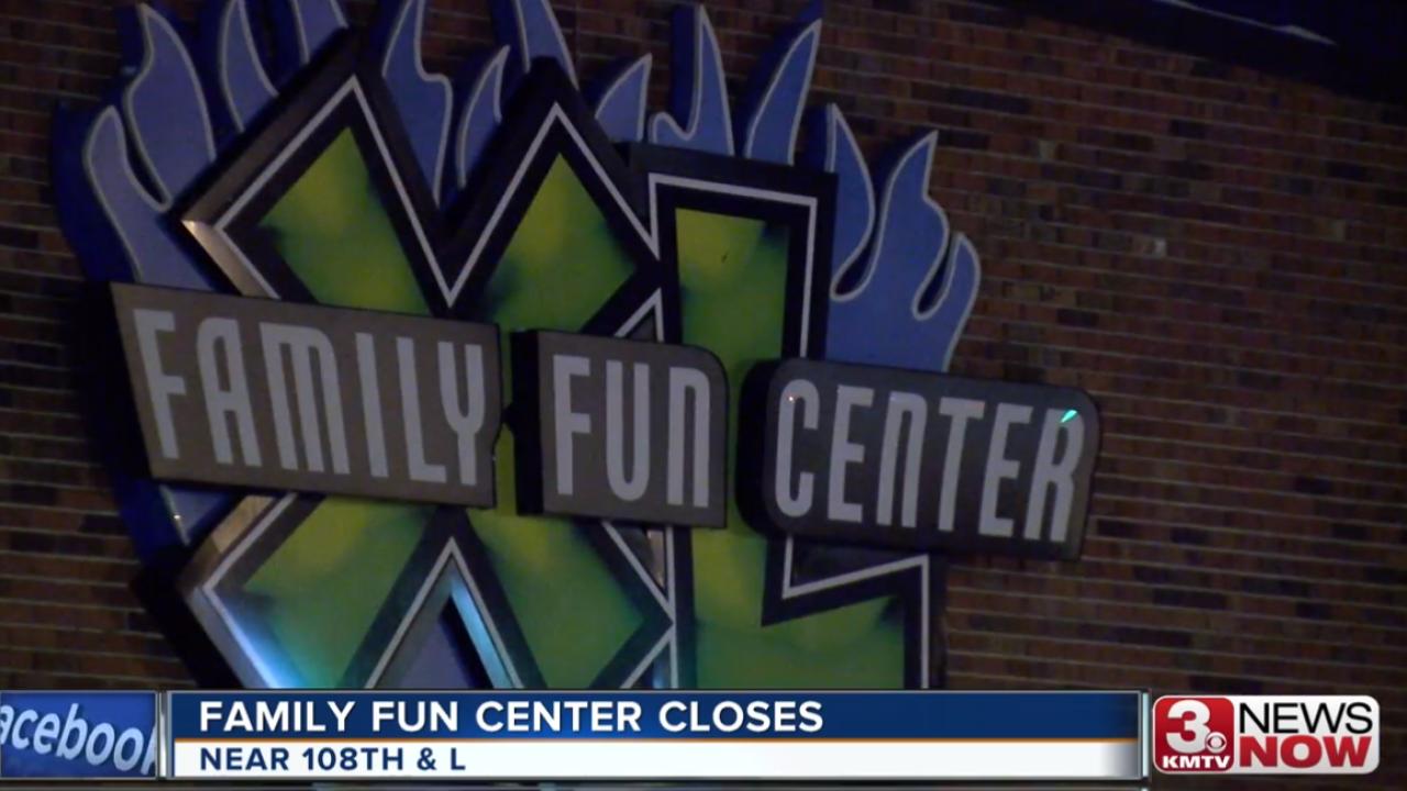 Family Fun Center closes