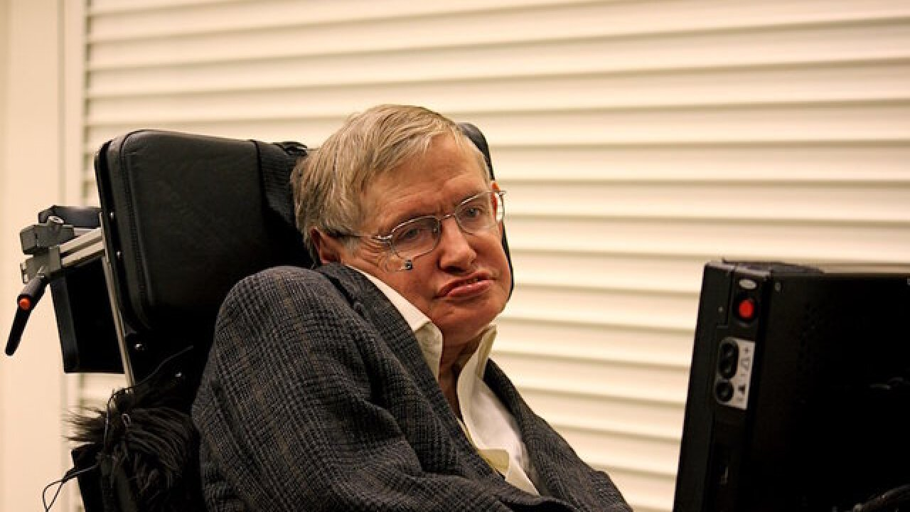 Antenna used to send recording of late Stephen Hawking's voice toward black hole