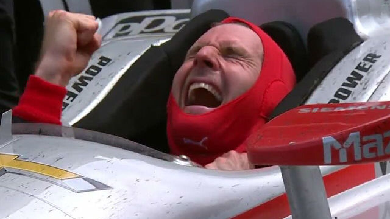 Will Power wins the 102nd Indy 500