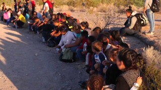 Border officials alarmed by migrants abandoned in Arizona desert