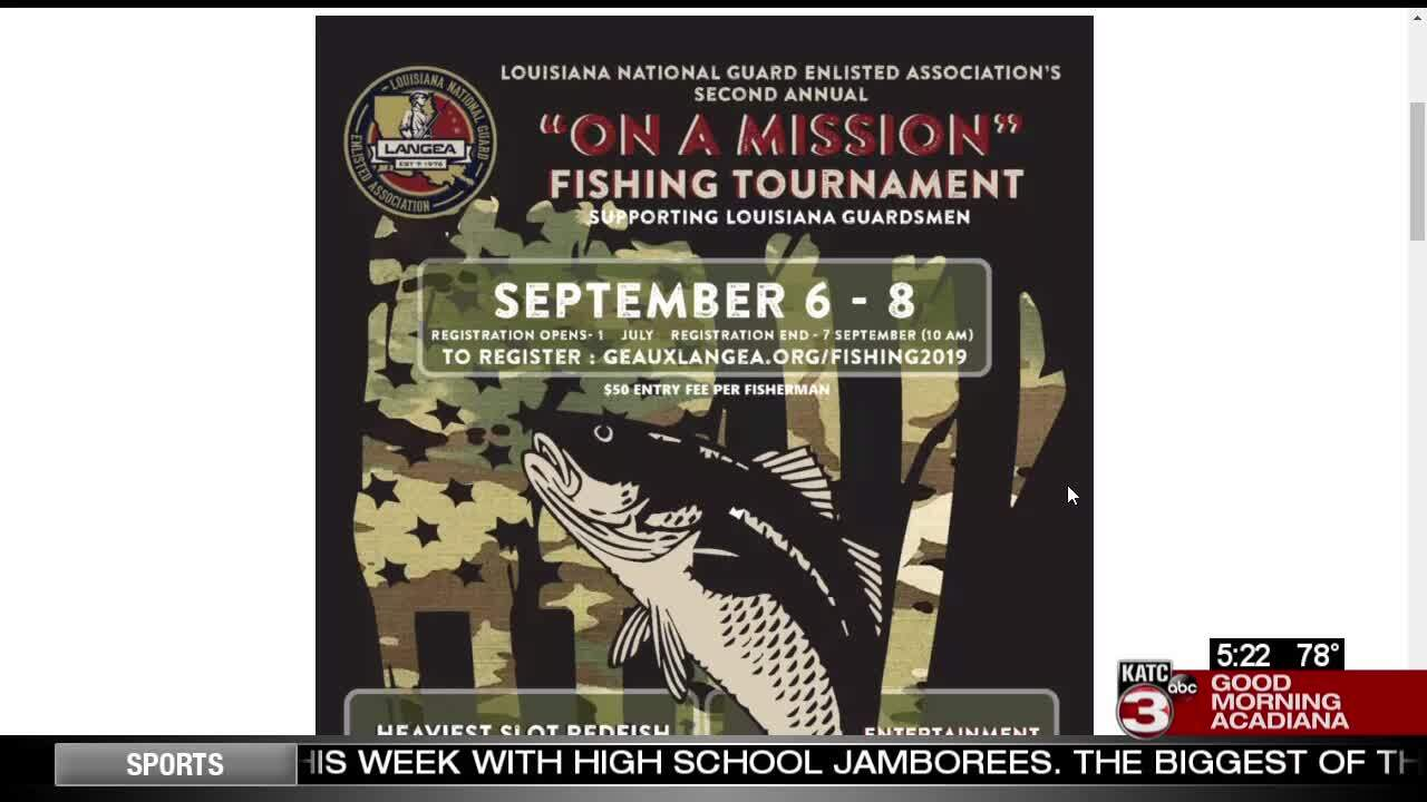 LANGEA On a Mission fishing tournament