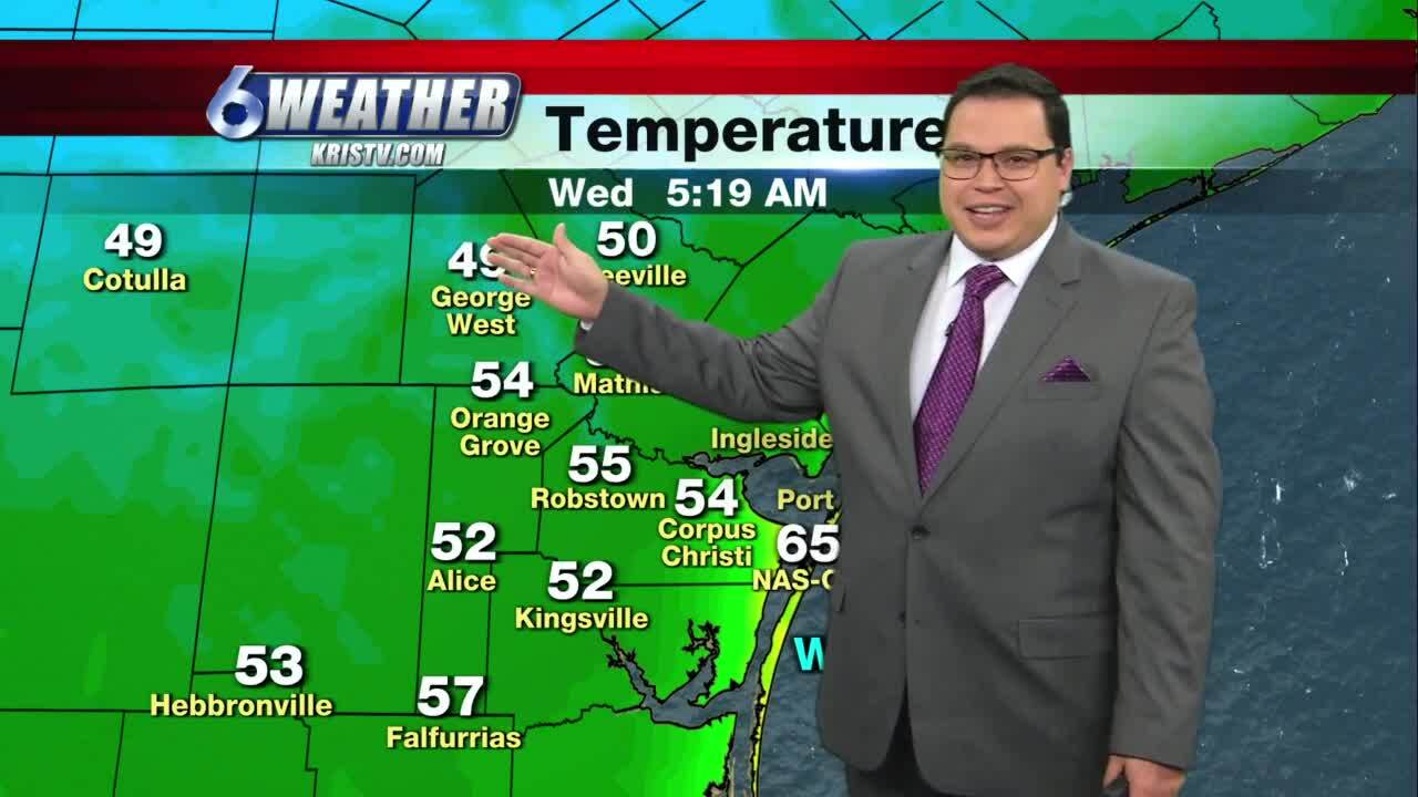 Cool morning will be followed by pleasant afternoon