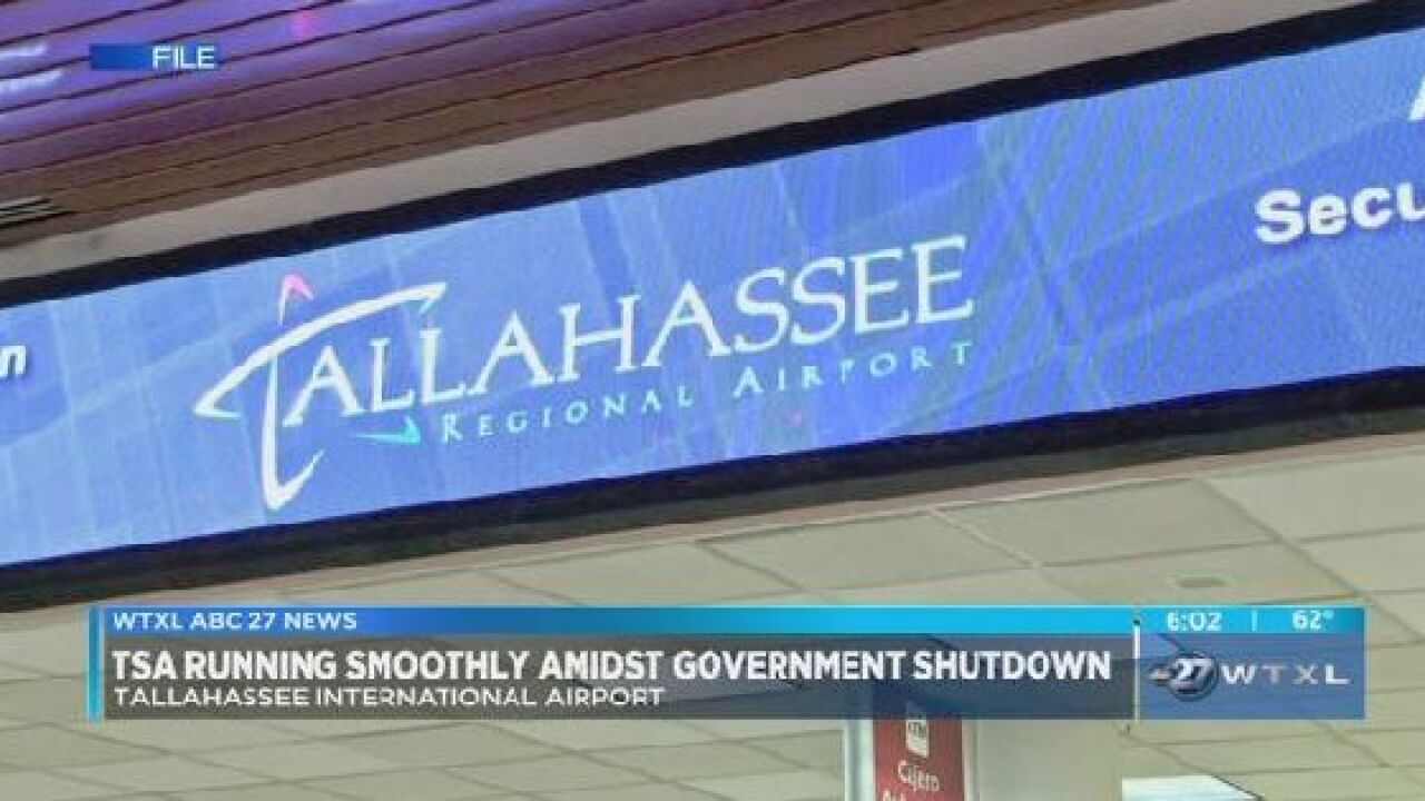 TSA running smoothly at TLH amidst government shutdown