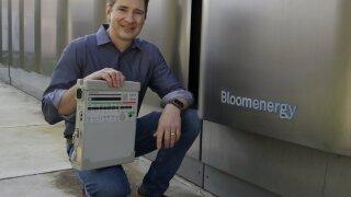 Joe Tavi, Bloom Energy senior director of manufacturing