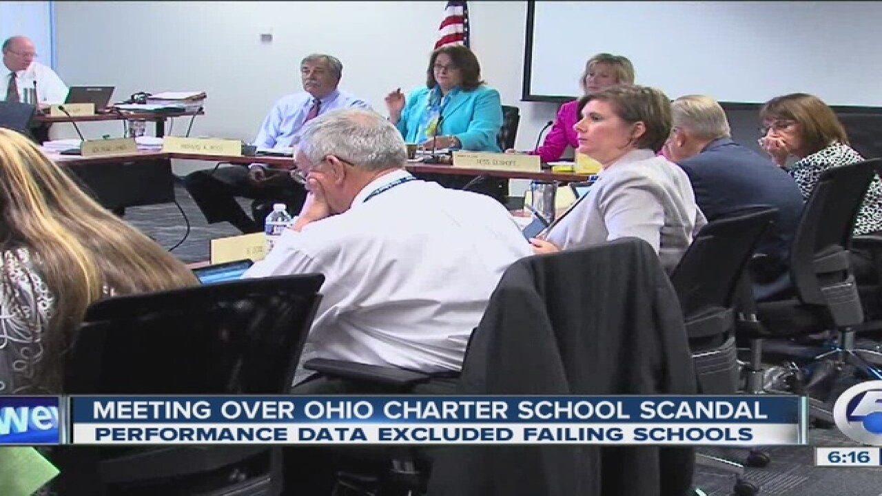 OH Charter school data scandal
