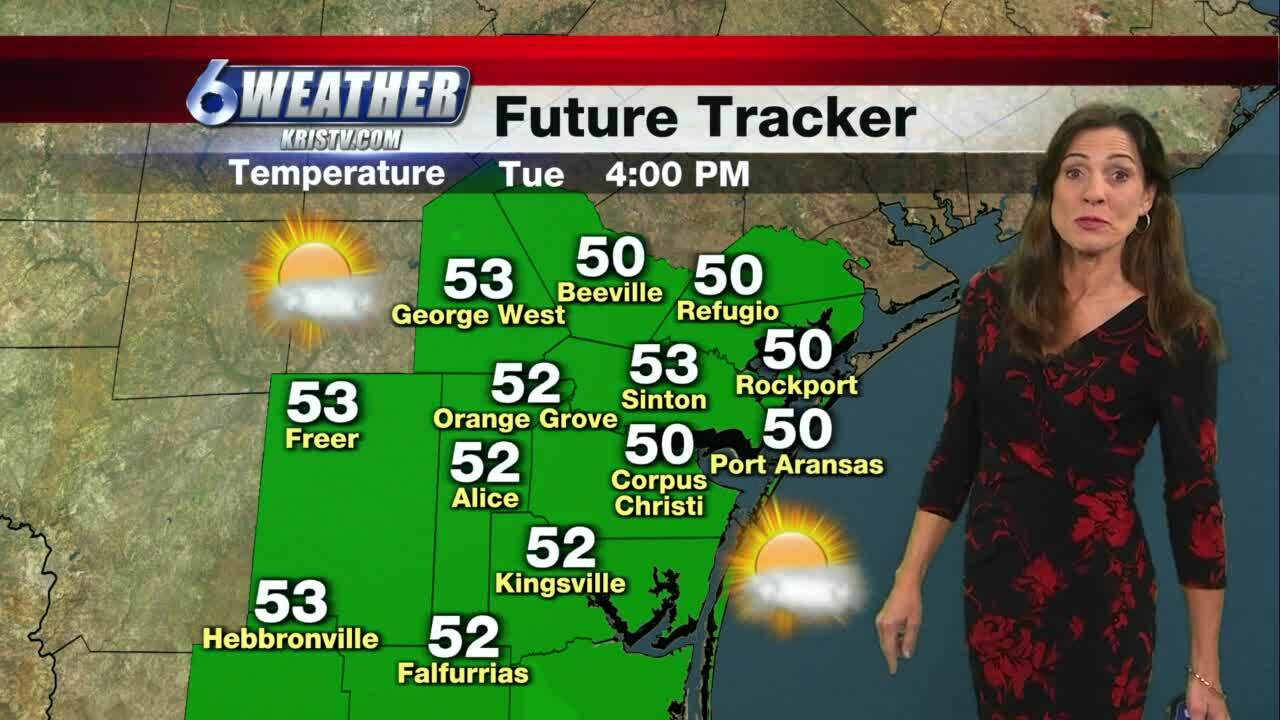 Today's weather with Sharon Ray