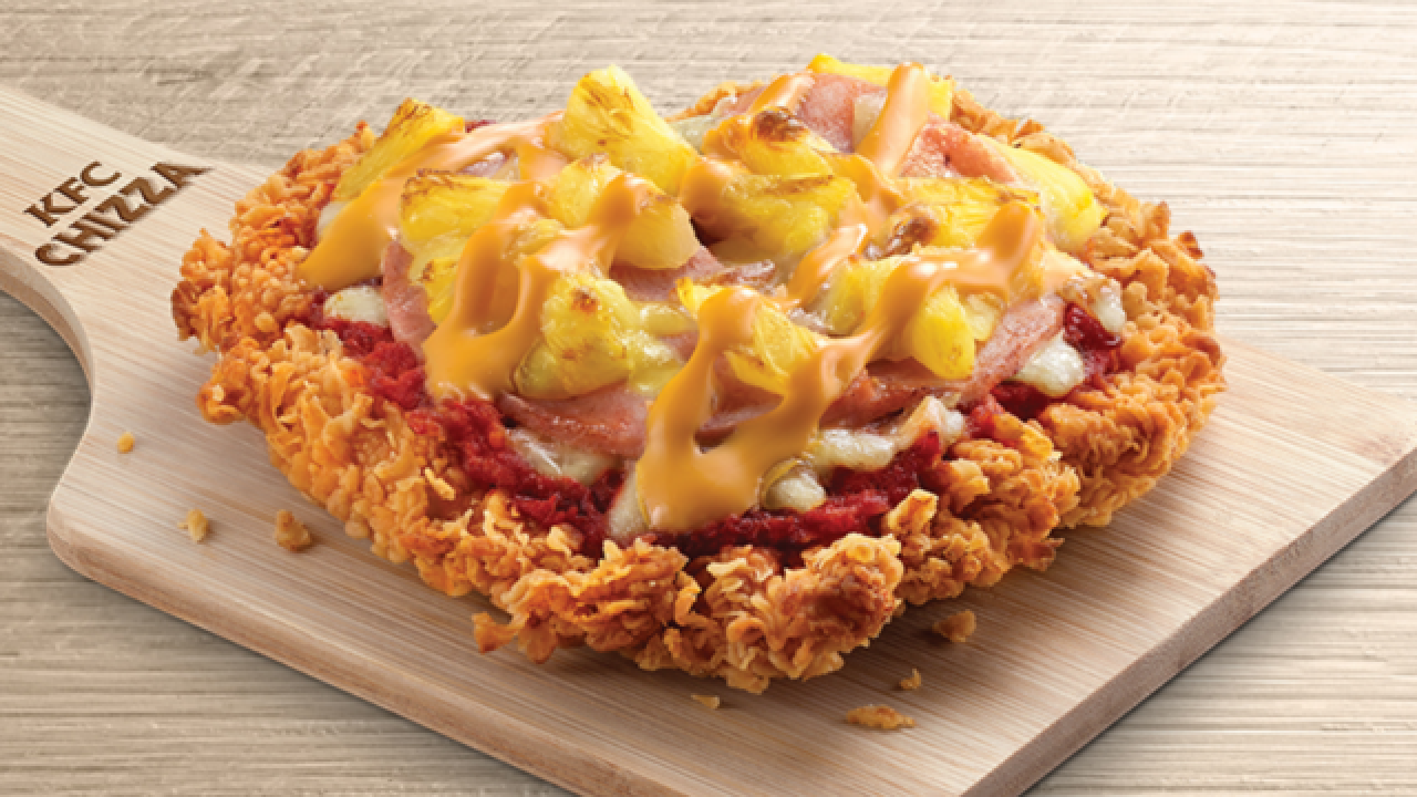 KFC introduces the 'Chizza'