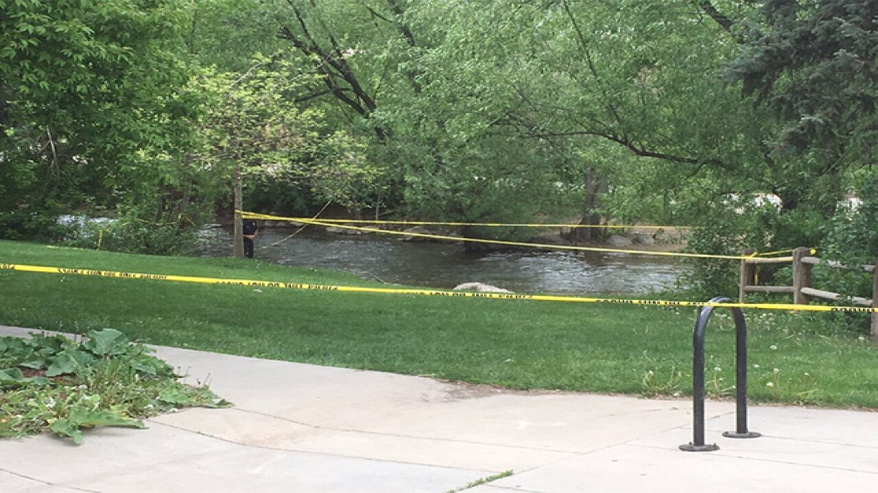 Suspect shot after firing gun into Boulder Creek