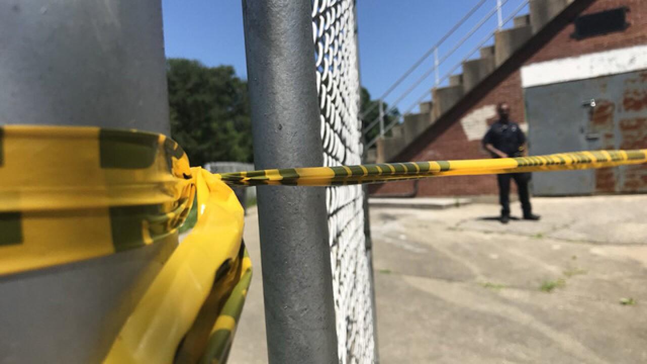 Body found in bleachers at Baltimore High School