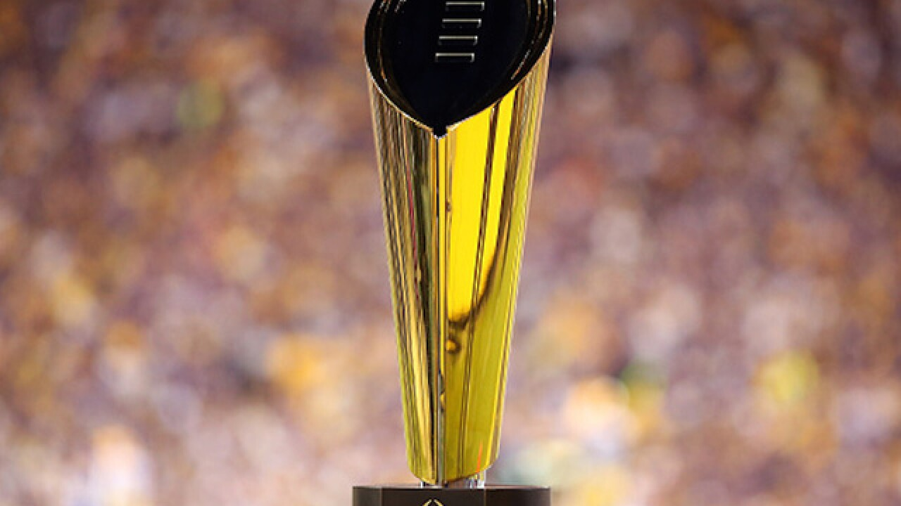 College Football Playoffs moves up NYE kickoffs