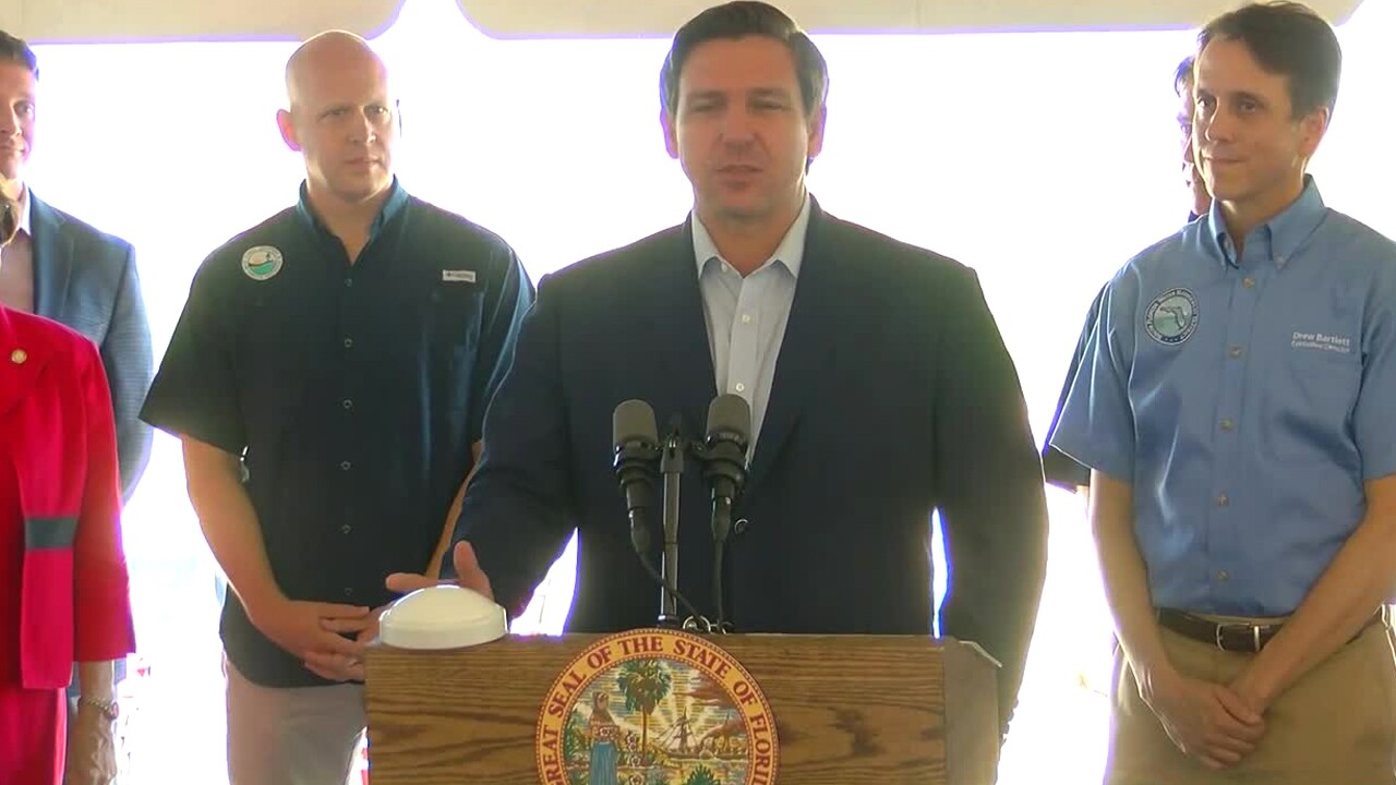 Gov. Ron DeSantis to speak in Indiantown at 10 a.m. regarding Everglades restoration project