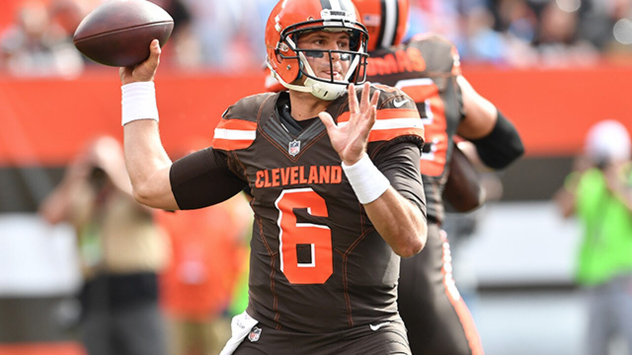 Browns trade QB Cody Kessler to Jaguars