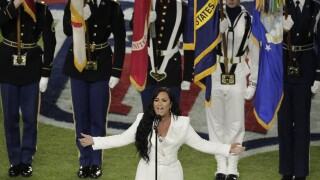Watch America the Beautiful and Star Spangled Banner performed at the SuperBowl