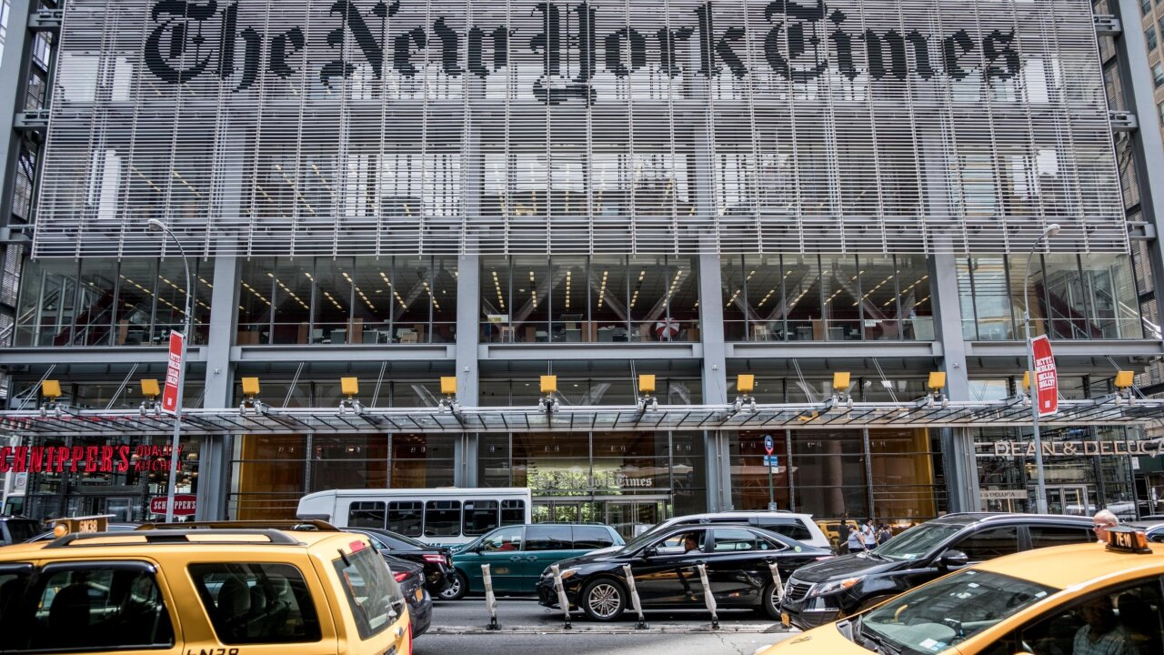 New York Times demotes editor who sparked fury