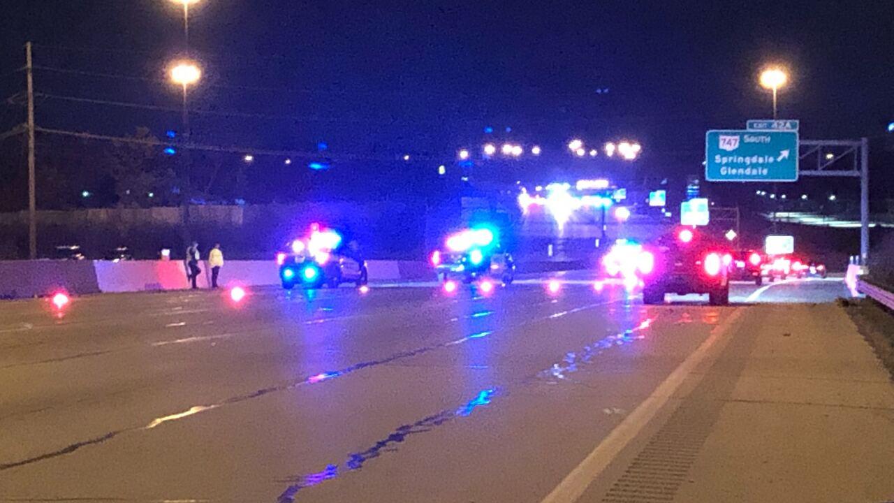 Pursuit crash Springdale Police
