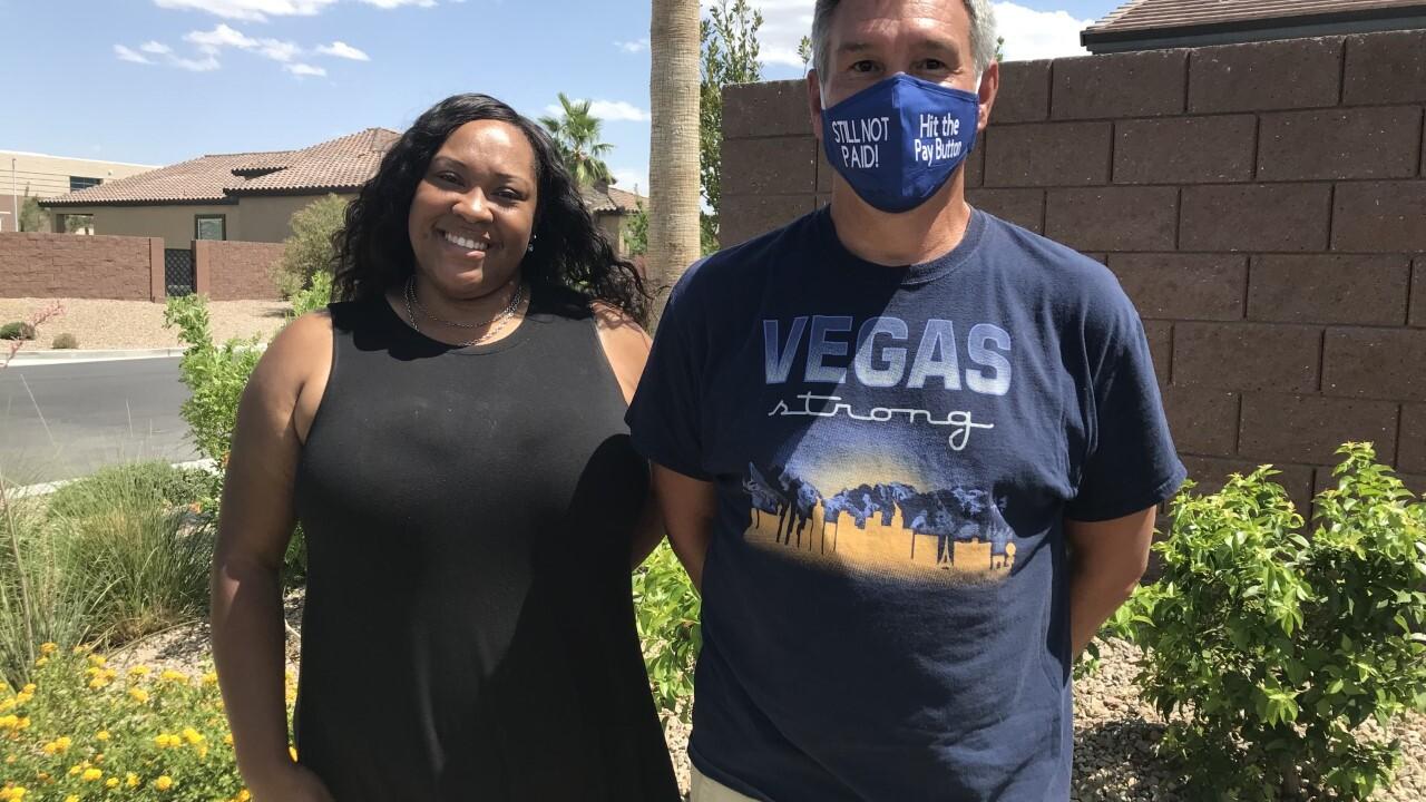 PUA lawsuit plaintiffs Tabitha Asare and Scott Howard