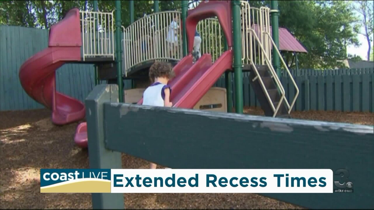 The changes and benefits of extended recess coming to Virginia Beach schools on CoastLive
