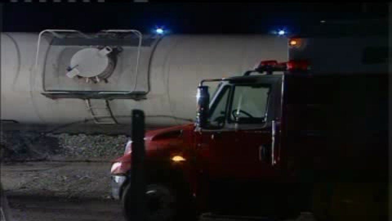 Hazmat team responds to train derailment