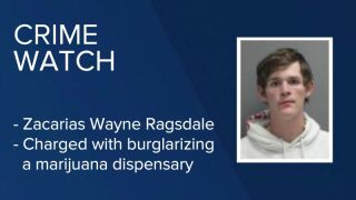 Zacarias Wayne Ragsdale has been charged in Great Falls after he reportedly burglarized a marijuana dispensary.
