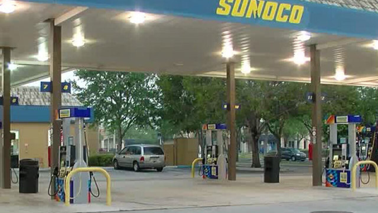Vehicle with baby inside stolen at gas station in suburban West Palm Beach